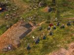 Haldir and the Galadhrim fend off an advancing Mordor army